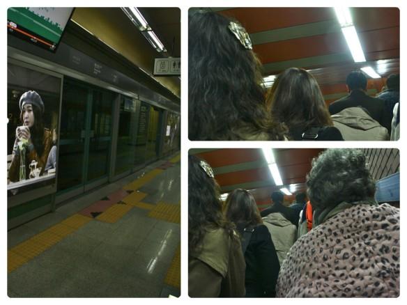 Crowded Seoul Station