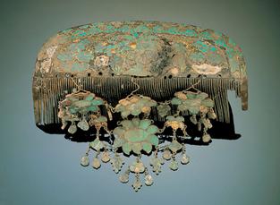 Tortoise shell comb