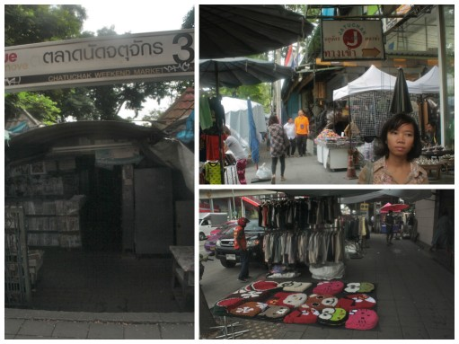 Outside Chatuchak