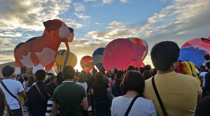 [Clark, Pampanga] ~ Love is in the Air and Sea : Philippine International Hot Air Balloon Fiesta (1 of 2)