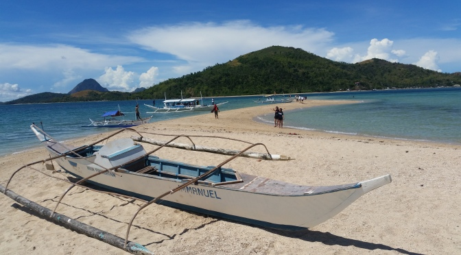 [Bulubadiangan Island, Concepcion] ~ Camp on a Sandbar Island