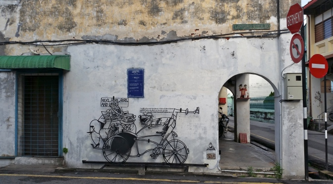 [Penang, Malaysia] ~ History in Iron Caricatures around George Town