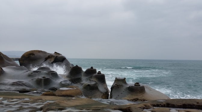 [Northern Taiwan]~Braved the Cold in Yehliu